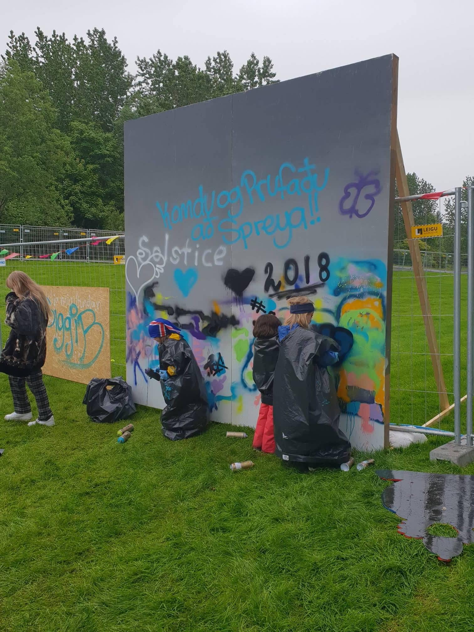 Graffítí kennsla